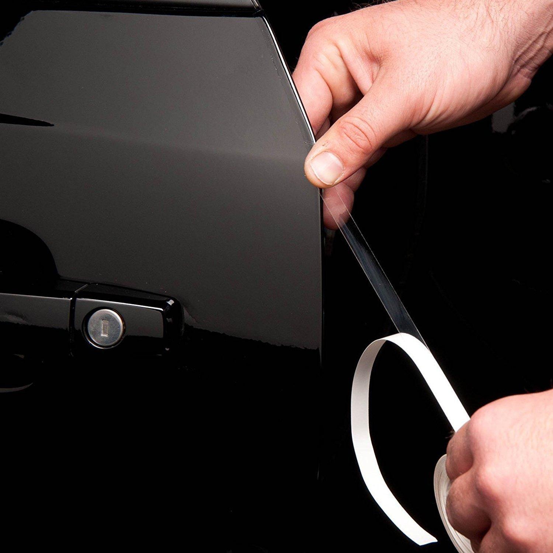 """XPEL XPF075U100 Clear /¾/"""" /¾/""""x100/' 3//4 x 100 Door Edge Guard Protection Film"""
