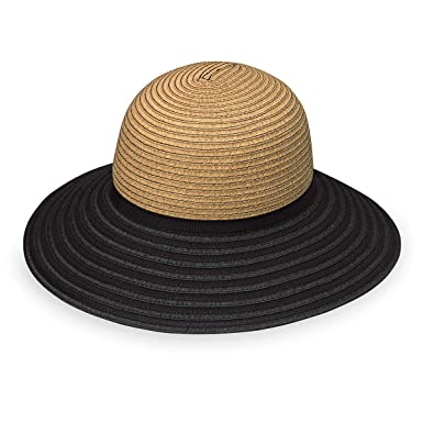 Wallaroo Hat Company Hat Company Women s Riviera Hat - Camel Black - Broad  Brim e95a78d8b42