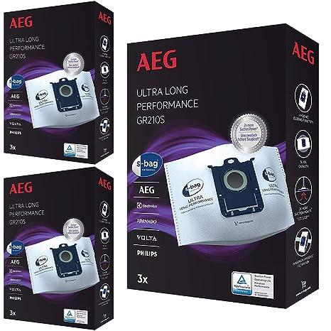 s-bag GR210S - Bolsas de Polvo para aspiradora Electrolux (9 ...