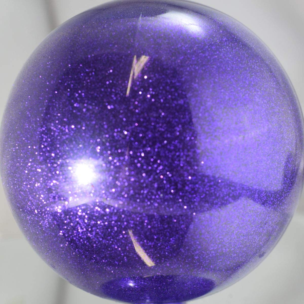 Vintage Paint Plum Crazy Purple Metal Flake Glitter .008 0.008 Hex (Pound)