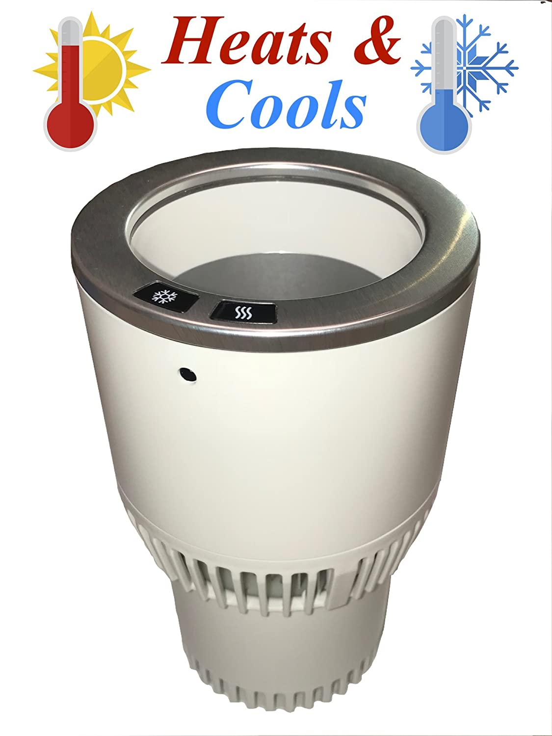 APG Car Cup Holder Cooler & Warmer to Keep Coffee, Cans, Drinks and Beverages Cool or Warm Ascent Products Group