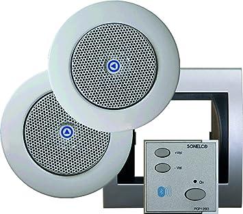 Sonelco PK2293-12 - Sistema de Sonido con Mando Amplificador con Dos Altavoces: Amazon.es: Electrónica