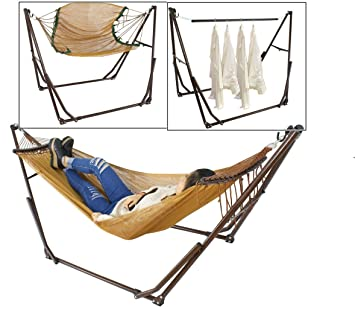 3 in 1 multi purpose portable foldaway hammock with stand and carry bag hanger   amazon     3 in 1 multi purpose portable foldaway hammock with      rh   amazon