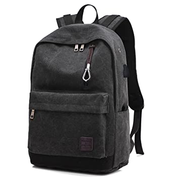 Backpack Canvas Men Male Backpacks Hoperay College Student School Bags for  Teenagers Vintage Mochila Casual Travel 0a426337c5