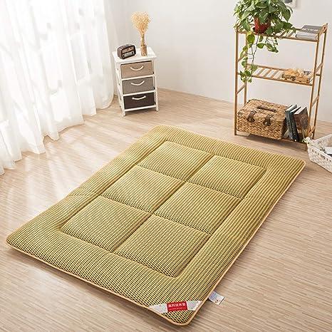 Amazon.com: Colchón de futón transpirable, tapete de piso de ...