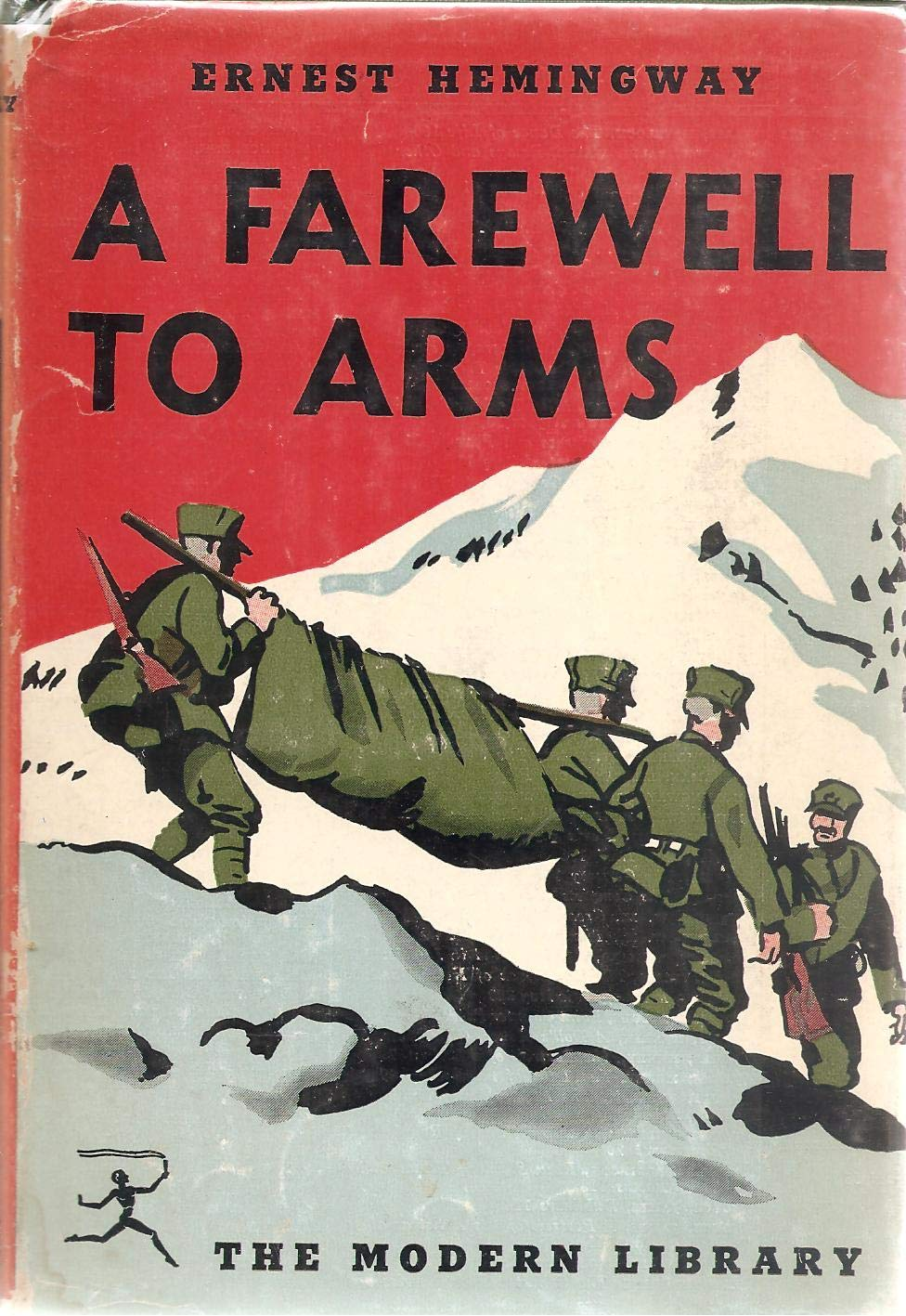 Ernest Hemingway A FAREWELL TO ARMS Modern Library: unknown: Amazon.com:  Books