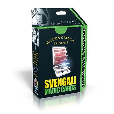 Marvin's Magic Svengali Magic Cards: Toys & Games