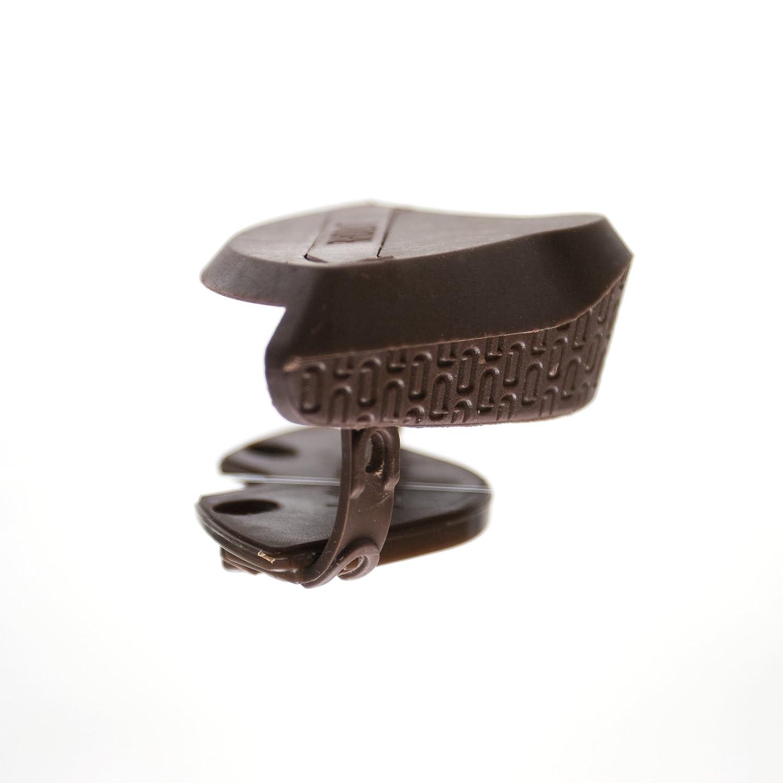 Amazon Rhoost Adhesive free Corner Protector 4 pack Brown