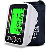 Blood Pressure Monitor,Digital BP Cuff Blood Pressure Cuff Voice Broadcast Automatic Large Backlight Display Upper Arm…