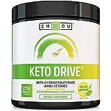 Keto Drive Exogenous Ketone Performance Complex - BHB Salts - Formulated for Ketosis, Energy and Focus - Patented Beta-Hydroxybutyrates (Calcium, Sodium, Magnesium) - Matcha Lemonade