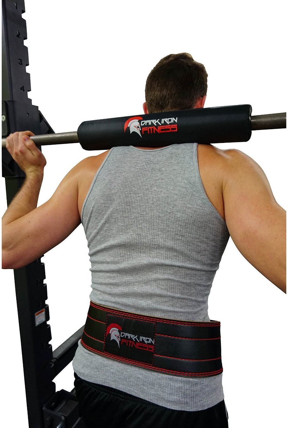 Accessories to Help Perfect Your Squats - Dark Iron Fitness Barbell Pad