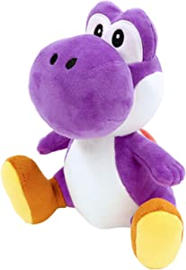 Sanei Super Mario All Star Collection Yoshi Plush Small (Purple)
