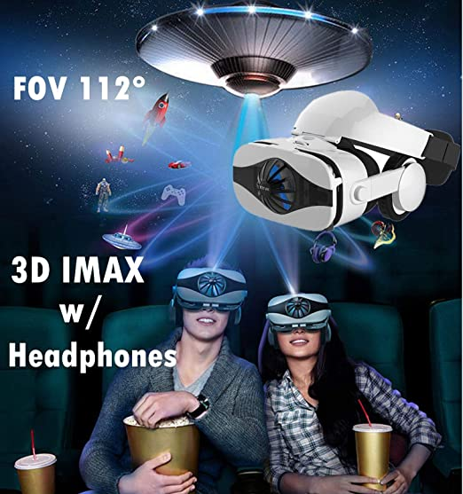 7e2634cd3bf Amazon.com  3D VR Glasses Headset