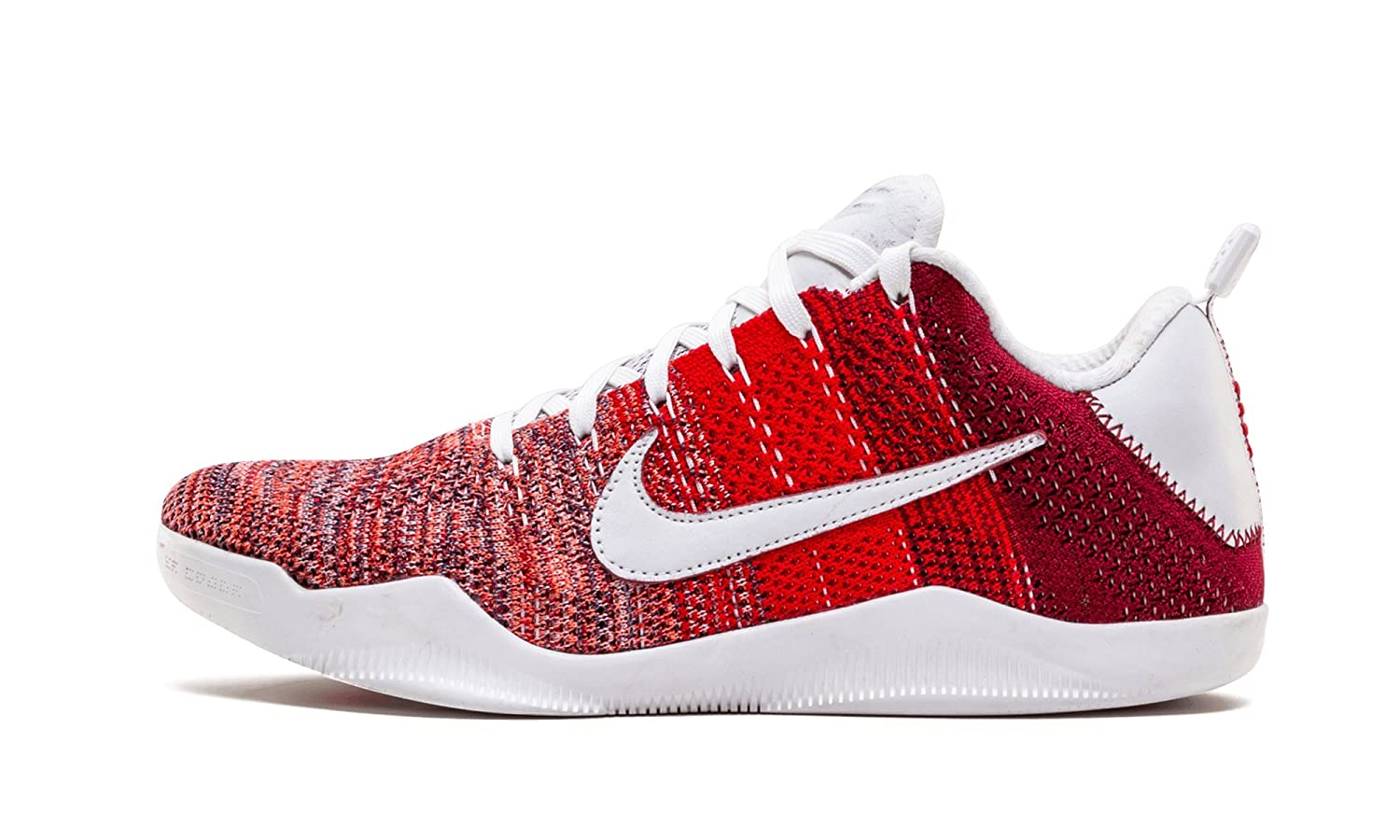 pretty nice 39887 be54d Amazon.com   Nike Mens Kobe XI Elite Low 4KB RED Horse University Red  Fabric Size 11.5   Shoes