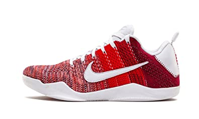 new arrival 61ee7 7c63d Nike Mens Kobe XI Elite Low 4KB RED Horse University Red Fabric Size 11.5