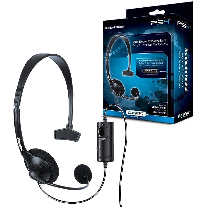 PS4 Broadcaster Headset: Amazon.es: Videojuegos