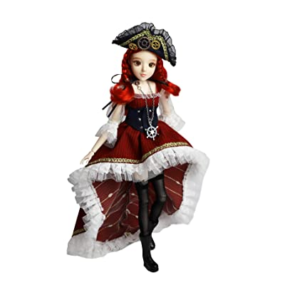 Fortune Days Original Design Dolls, Tarot Series 14 Ball Joints Doll, Best Gift for Girls(The Wheel of Fortune): Toys & Games