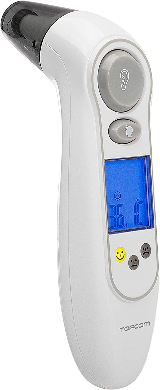 Topcom TH-4656 Thermometer wei/ß