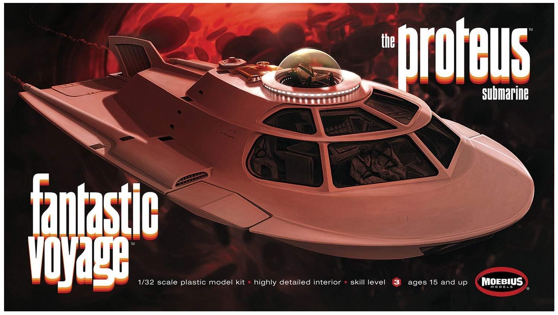1//32 Modelo Kit Fantastic Voyage Proteus