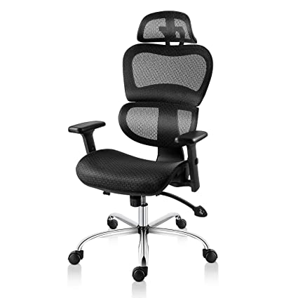 Amazon Com Smugdesk Ergonomic Office Chair High Back Mesh Chairs