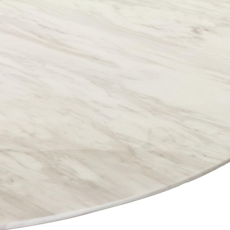 Amazoncom Modway Eero Saarinen Style Tulip Dining Table White - 48 tulip table