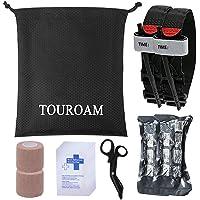 TOUROAM Kit Primeros Auxilios médicos Trauma Bolsa Salvamento