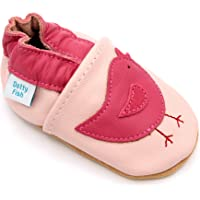 Dotty Fish Soft Sole Leather Baby Shoes. Up to 4-5 Yrs. Anti Slip. Girls.