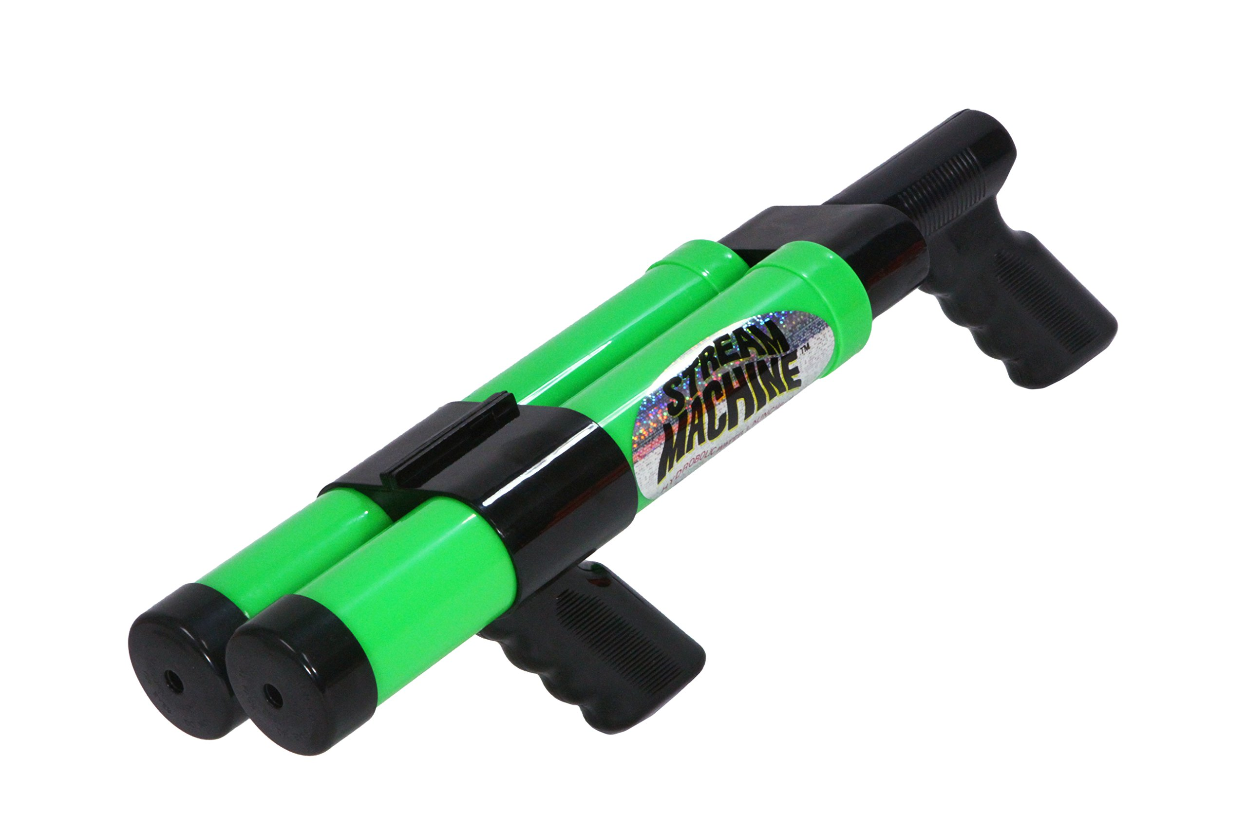 Stream Machine Water Cannon Squirt Gun Soaker Water Launcher Swimming Pool Toy (Color May Vary), DB-1200 (Double Barrel)
