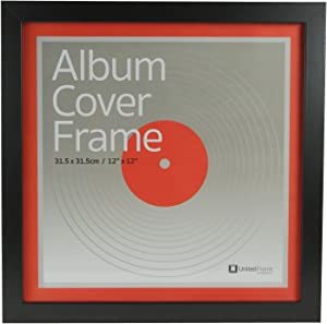 Best Record Album Cover Frame - Universal Fit, 12 inch LP Vinyl Cover Display. Quality European Craftsmanship with Eco-sourced Wood & Protective Glass