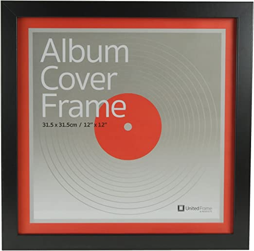 """Picture Frames Single 12/"""" inches Vinyl LP Record with Album CoverIvory Mount"""