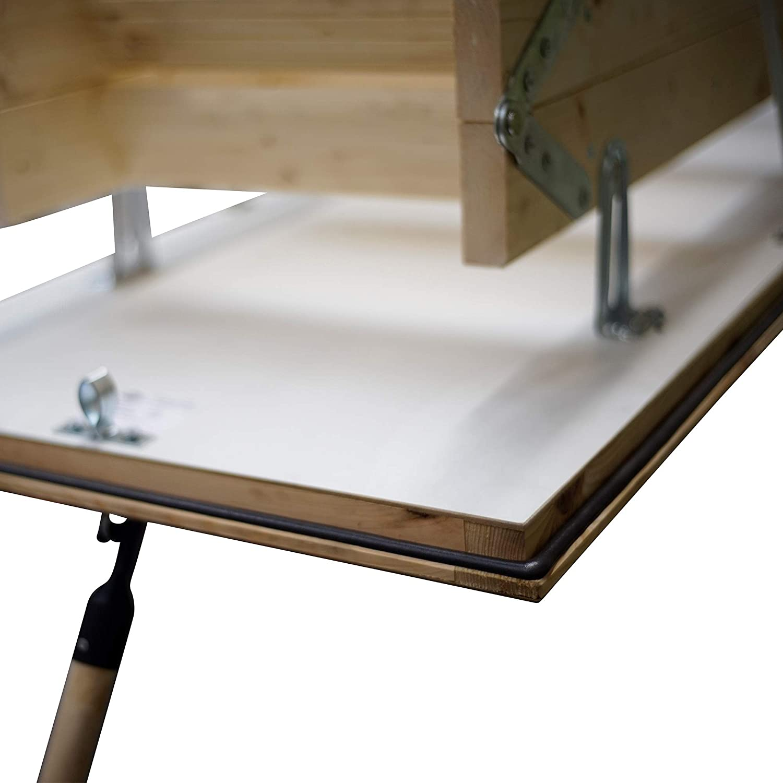 Laddaway 1530-005 - Escalera para áticos (tamaño: 2.80m): Amazon.es: Bricolaje y herramientas