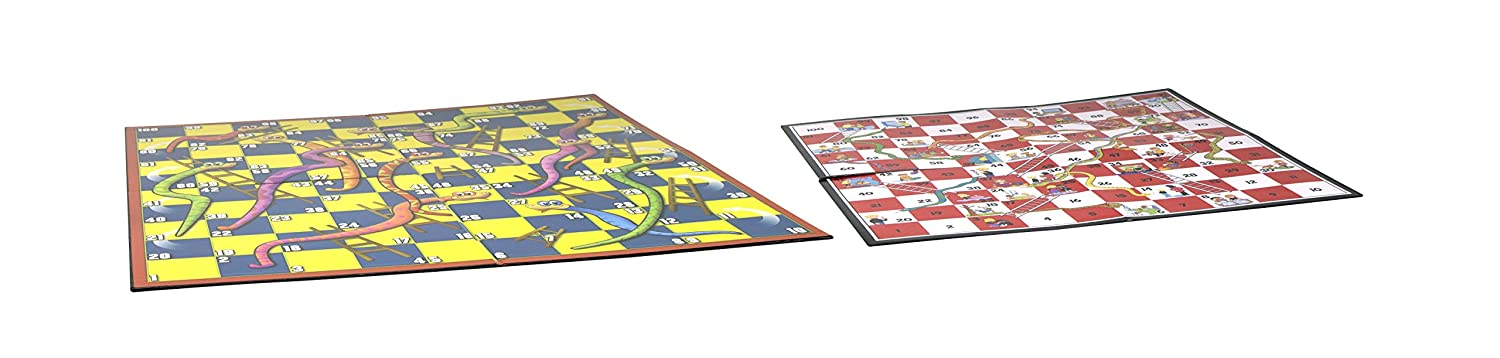 4 Player Pressman Toys Giant Snakes /& Ladders Game 1025-04