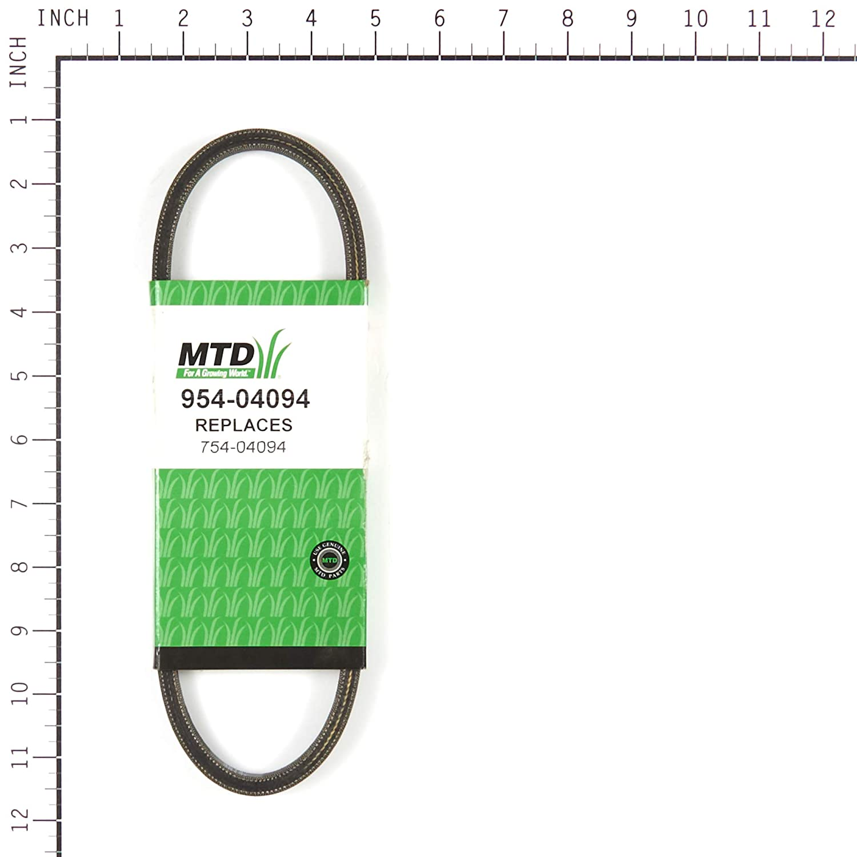 Amazon.com: Genuine MTD Cortacésped Cinturón de 954/754 ...