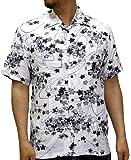 (ルーシャット) ROUSHATTE アロハシャツ 半袖 シャツ レーヨン ハイビスカス 12color