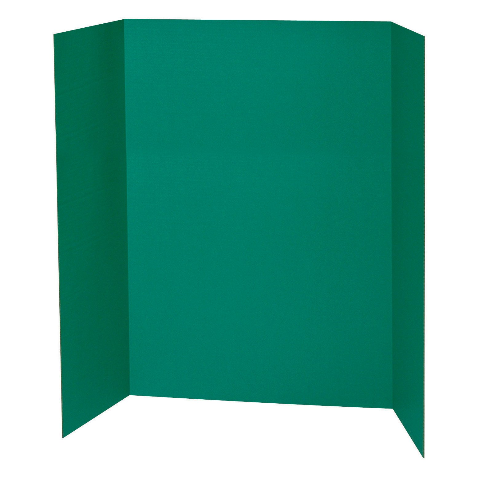 Spotlight 1 Ply Trifold Display Board, 48'' Width x 36'' Height, Green by Spotlight