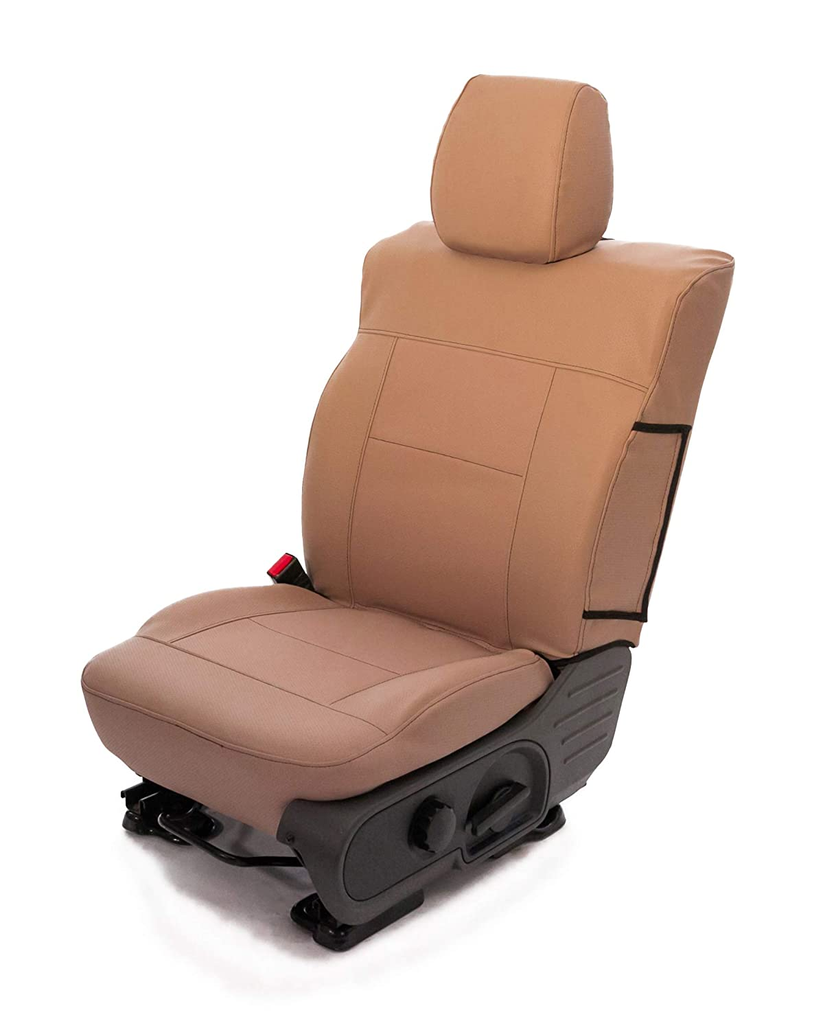 Saddleman S 779910-02 Saddle Brown Custom Made Rear 60//40 Split Bench with 3 adj headrests Seat Covers