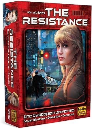 The Resistance - Juego de Mesa (en inglés): The Resistance 2nd Edition Board Game: Amazon.es: Juguetes y juegos