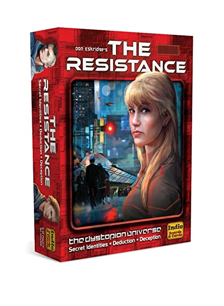 0561a2ff7af2 Amazon.com  The Resistance (The Dystopian Universe)  Toys   Games