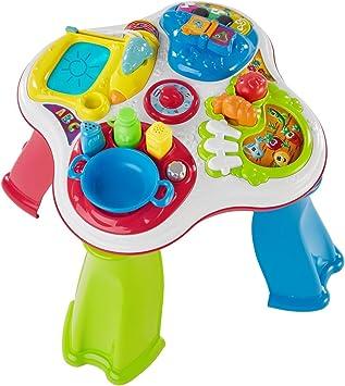 Chicco- Mesa de Juegos, 34.5 x 34.5 x 37.5 cm (7653000040): Amazon.es: Juguetes y juegos