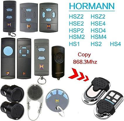 HSM4 HS2 HS4 868 MHZ COMPATIBILE TELECOMANDO PER HORMANN HSM2