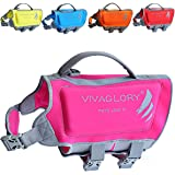 Premium Neoprene Dog Life Jackets with Superior Buoyancy and Rescue Handle, Comfortable & Durable, Available in 5 Bright Colors & 5 Sizes