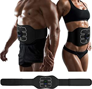 MarCoolTrip MZ ABS Stimulator,Ab Machine,Abdominal Toning Belt Workout Portable Ab Stimulator Home Office Fitness Workout Equipment for Abdomen/Arm/Leg