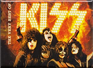 """C&D Visionary The Very Best of KISS - Fridge Magnet, Officially Licensed Artwork, 2.5"""" X 3.5"""""""