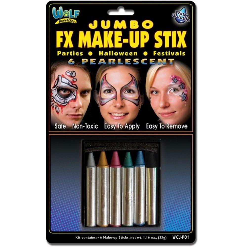 Wolf Novelties Pearlescent FX Make-Up Stix
