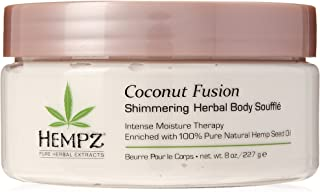 product image for Hempz Coconut Fusion Herbal Shimmering Body Soufflé, 8 Ounce