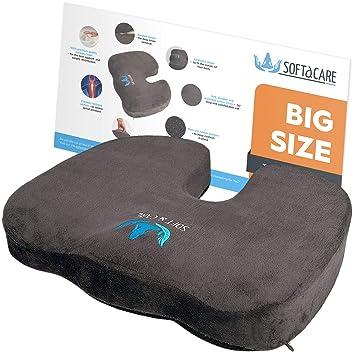 Amazon.com: SOFTaCARE - Cojín de asiento - Cojín grande ...