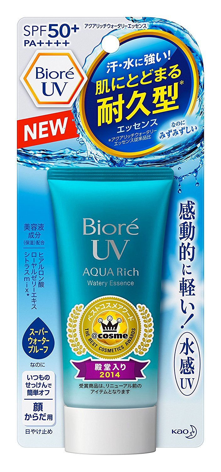 Biore UV Aquaric Water Wreath Essence Type Kao