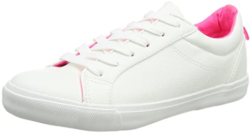 New LookMoxie - A Collo Basso Donna amazon-shoes bianco