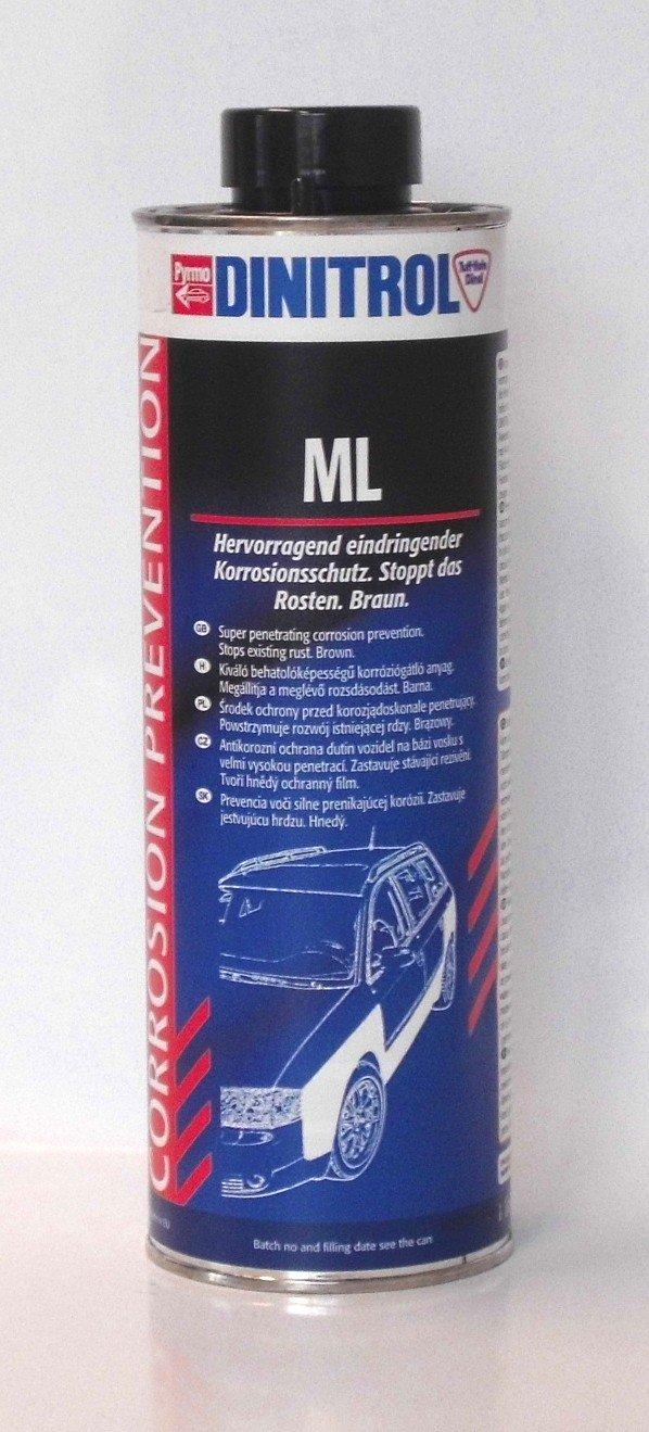 Dinitrol ML - Cera para cavidades de vehículos, 1000 ml: Amazon.es: Coche y moto