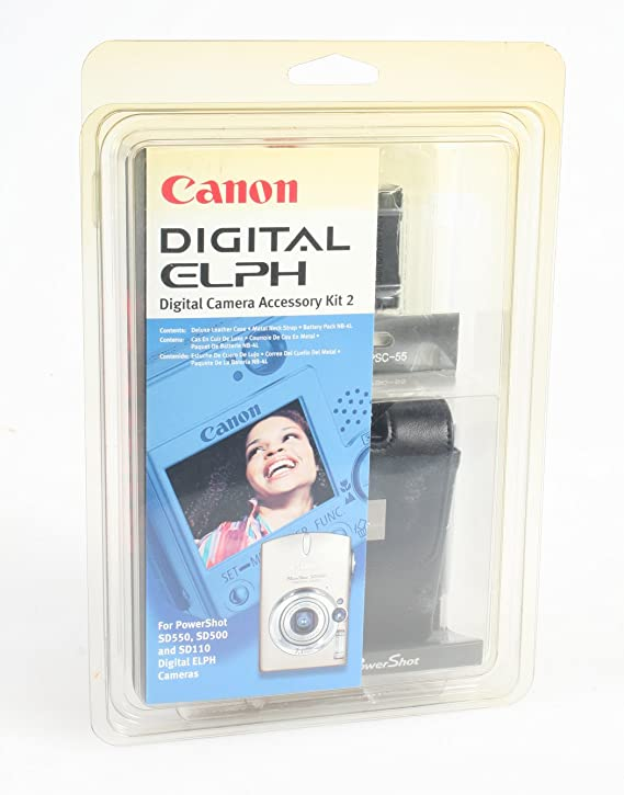 Amazon.com : CANON Brand Digital ELPH Battery, Camera CASE ...